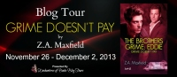 Grime Doesn't Pay Blog Tour Banner