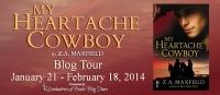 My Heartache Cowboy Banner