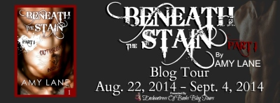 Beneath The Stain by Amy Lane - Blog Tour Banner