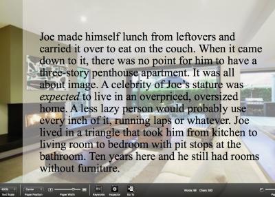 Joe's home